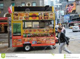 100 Food Truck License Nyc HALAL FOOD VANDOR ON MANHATTAN NYC Editorial Photo Image Of