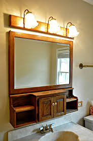 Lowes Canada Bathroom Vanity Cabinets by Diy Bathroom Oak Light Bar Paint Update Edison Vintage Light Bulbs