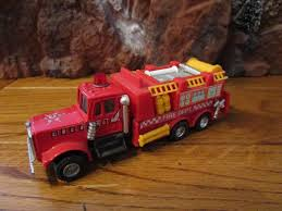100 Fire Truck Power Wheels 187 Scale Plastic Red With Ladders Wired For Power