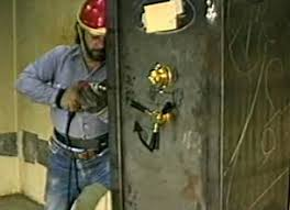 Side Drilling And Punching The Bolts Test UL Hires Professional Safe