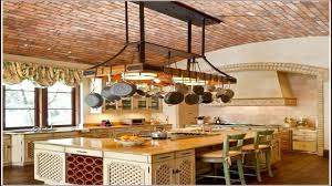 kitchen try this hanging pot rack design for your kitchen