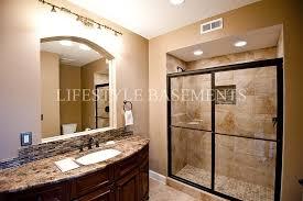 Small Basement Bathroom Designs by Basement Bathroom Design Basement Traditional With Backsplash