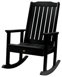 Lehigh Rocking Chair, Black