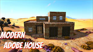 ARK: Scorched Earth Build - Modern Adobe House (Vanilla) - YouTube Adobe House Plans Blog Plan Hunters 195010 02 Momchuri Southwestern Home Design Mission Illustrator M Fascating Designs Grand Santa Fe New Mexico Decorating Ideas Southwest Interiors Historic Homes For Sale In Single Story Act Baby Nursery Cost To Build Adobe Home Straw Bale Yacanto Photos Hgtv Software Ranch Cstruction Sedona Archives Earthen Touch Mesmerizing Ipad Free Designed Also Apartment