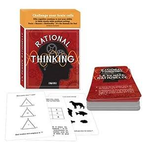 Family Games Rational Thinking Brain Teaser IQ Card Game
