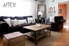 Living Room Makeovers Diy by Industrial Blend Living Room Makeover Reveal Yellow Bliss Road