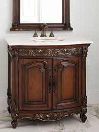 antique bathroom vanities for elegant homes
