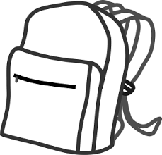 Sack Black And White Clipart