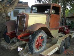 100 Rat Rod Truck Parts 1935 36 International C 30 1 12 Ton Truck Rat Rod Yard Art Parts Truck