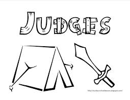 Book Of Judges Free Coloring Page