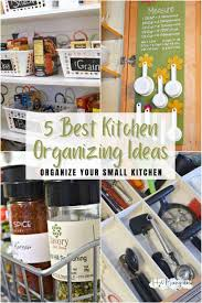 Small Kitchen Organizing Ideas 5 Best Kitchen Organizing Ideas For Small Spaces H2obungalow