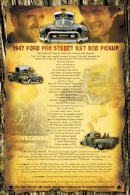 100 Rat Rod Truck Parts 1947 Ford PRO STREET ROD Pickup DELIVERENCE