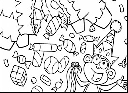 Incredible Printable Candy Coloring Pages With And Corn Free