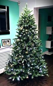 Lit Trees The Ultra Fir With Warm White Colour 9 Ft Slim Christmas Tree Pencil Pre