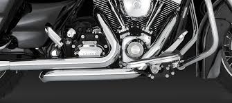 dresser duals headers chrome for 2010 newer harley touring 16829