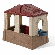 Step2 Happy Home Cottage U0026 by Step2 Neat And Tidy Cottage Ii Playhouse Walmart Com