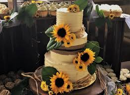 Rustic Wedding Cake Ideas Lovely Country And Cupcake Display With Live