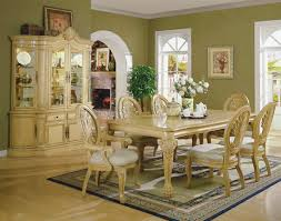 Raymour And Flanigan Discontinued Dining Room Sets by Antique White Formal Dining Room With Carving Details