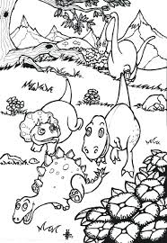 Full Image For Baby Dinosaur Coloring Pages Preschoolers Free Printable