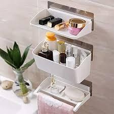 fyld badezimmer wandregal multifunktions selbstklebend kein