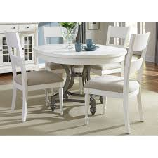 5 Piece Oval Dining Room Sets by East West Furniture Boston 5 Piece Round Dining Table Set With