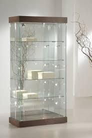 decoration living room corner display cabinet mahogany glass
