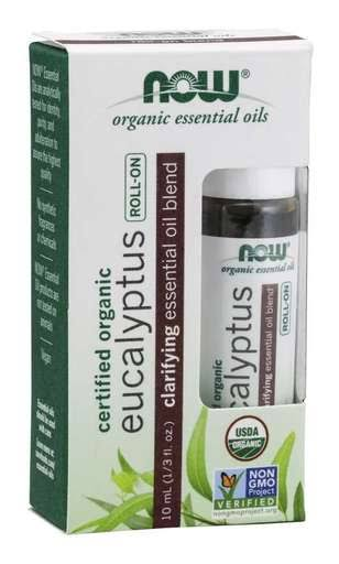 Now Eucalyptus Essential Oil Blend, Organic Roll-On