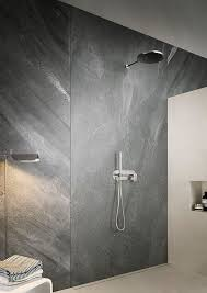 Grey Tiles In Bathroom by Best 25 Natural Stone Bathroom Ideas On Pinterest Stone Shower