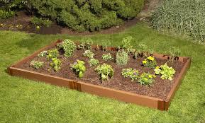 Frame It All Two Inch Series Modular posite Raised Garden