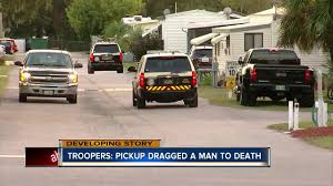 100 Bayshore Truck Troopers Driver Of Pickup Truck Ran Over Man Dragged His Body For