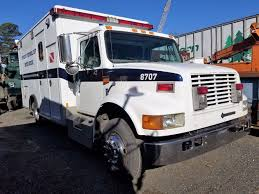 Salvage Heavy Duty International 4700 LOW PROFILE Trucks | TPI Salvage Ford Trucks Atamu Heavy Duty Freightliner Cabover Tpi Ray Bobs Truck Fld120 Coronado Intertional 4700 Low Profile Isuzu Engine Blown Problems And Solutions Sold Nd15596 2013 Dodge Ram 1500 4dr 4wd 57 Automatic 1995 Volvo Wia F250 Sd 2006 Utility Bed Super Title Pittsburgh Beautiful Pinterest Trucks And Cars Old Mack Yard Preview Various Pics
