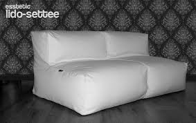 LIDO SETTEE Bean Bag Sofa SECTIONAL