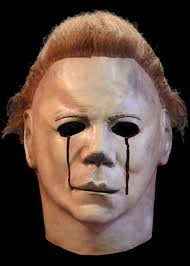 Halloween Film William Shatner Mask by Halloween Ii Mask Michael Myers Blood Tears Mask Caufields Com