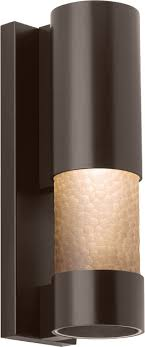 lbl od789smbz moon modern bronze outdoor wall light fixture