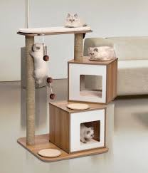 modern cat stylish cat houses furniture home essentials for the
