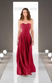 wedding dresses floor length bridesmaid gown sorella vita