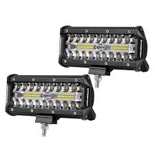 Best Led Flood Work Lights For Truck | Amazon.com Best Led Spotlights For Trucks Amazoncom Truck Lite Led Spot Light With Ingrated Mount 81711 Trucklite Rigid Industries D2 Pro Flush Mount Lights 1513 Senzeal 5d 90w 9000lm Cree Chip Flood Beam Offroad Work Great Whites Lights 4wds Cars 2x 4inch 1800lm 18wcree Led Bar Spotflood Lamp Green Hunting Fishing 10 Inch High Power For Vehicles 18w Cree Pod Fog Jeep Off Trucklitesignalstat 4x6 In 1 Bulb 1450 Lumen Black Rectangular 4 Inch 27w Round Amber Ligh 1030v Rund 35w Driving 3 Road Bars Trucks Offroad Sale