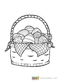 Easter Egg Coloring Pages For Kids