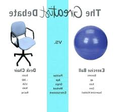 Stability Ball Desk Chair by Exercise Ball Office Chairs U2013 Realtimerace Com