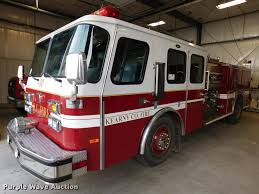 1995 Emergency One Fire Truck | Item DC8468 | SOLD! January ...