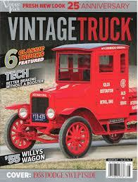 100 Vintage Truck Magazine August 2017 Various Amazoncom Books