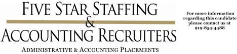 Dental Front Desk Jobs Raleigh Nc by Five Star Staffing Jobs Career U0026 Employment Opportunities
