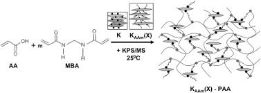 Synthesis Of The Poly Acrylic Acid Co Methylene Bisacrylamide Nanocomposite Hydrogels Containing Polyacrylamide Modified Kaol