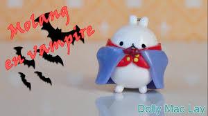 Mickey Vampire Pumpkin Stencil by Tutoriel Fimo Molang En Vampire Halloween Youtube