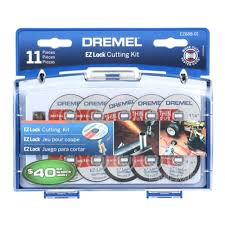 Dremel Tile Cutting Kit by Dremel Ez Lock Cut Off Wheel Set For Metal And Plastic 11 Piece