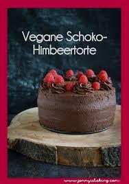 vegane schoko himbeer torte