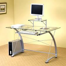 Officemax Small Corner Desk by Black Glass Office Desk U2013 Adammayfield Co