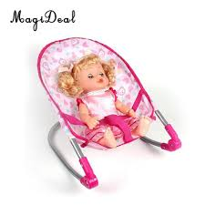 Simulation Newborn Baby Toddler Fun Play Pretend Furniture Bouncer Rocking  Chair Model For Reborn Dolls Supplies Doll Accessories Baby Doll ...