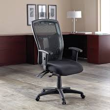 Lorell, LLR86200, Executive High-back Mesh Chair, 1 / Each Brechin High Back Fabric Executive Chair Lorell Highback Mesh Chairs With Seat Model 3701h Back Fabric Chair Llr86200 Highback 1 Each Global Accord Tilter 26704 Grade Hino Without Arms Black Hon Exposure Task 5star Base 19 Width X 2150 Depth 268 255 425 Dams Tuscan Managers Office Tus300t1k Swivel Wing Fireside Armchair Bmoral Duck Egg Blue Check Ps Upholstered Ding Room Nordic