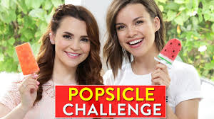 Nerdy Nummies Halloween by Popsicle Challenge W Ingrid Nilsen Rosanna Pansino Vlog Life